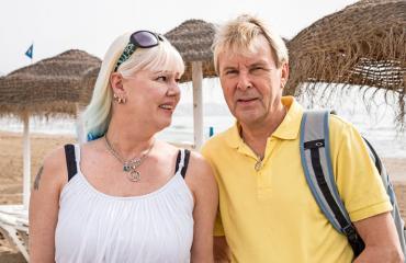 Matti ja Pia Nykänen avoimena seksielämästä.