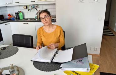 Kirsi Leppälä oli R-kioski-yrittäjä.