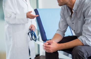 Sukupuolitautitartunta diagnoisoidaan lääkärissä.