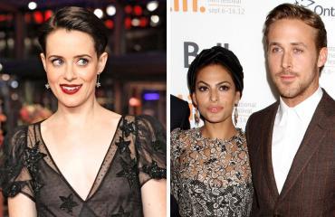 Claire Foy, Eva Mendes ja Ryan Gosling