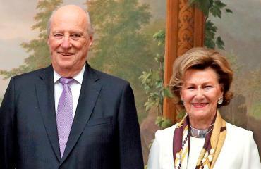 Norjan kuningaspari Harald ja Sonja