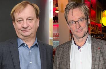 Hjallis Harkimo ja Mikael Jungner