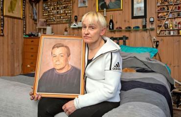 Raimo Anderssonin leski avautuu miehensä kuolemasta.