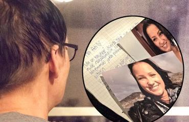 Kadonneen Riinan äiti löysi tyttärensä kirjeen.