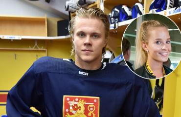 Mikael Granlundin Emmi-rakas täytti vuosia.