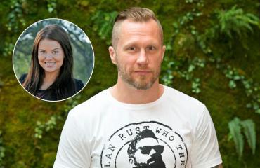 Hannes Hyvöselle ja Netta Suikkanen hankkivat uuden perheenjäsenen.