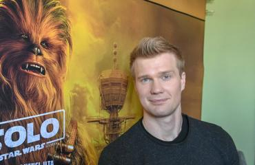 Joonas Suotama on Chewbacca.