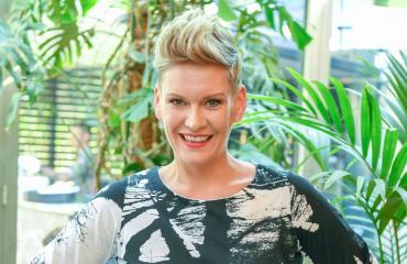 Heidi Sohlberg tähdittää Ranskassa kuvattavaa ohjelmaa.