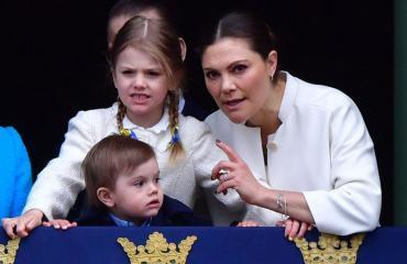 Ruotsin prinsessa Estelle ja prinssi Oscar