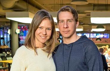 Sonja Kailassaari ja Aku Hirviniemi ovat etäsuhteessa.