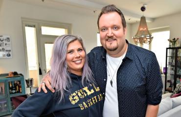 Sami ja Ilona Hedberg saivat kotinsa myytyä.