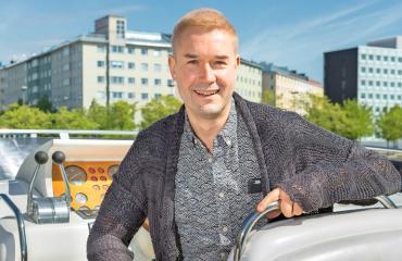 Marco Bjurström pyörittää useaa bisnestä.