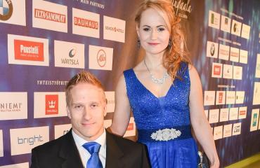Leo-Pekka ja Sandra.