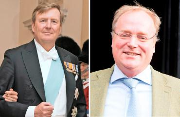 Hollannin kuningas Willem-Alexander ja prinssi Carlos