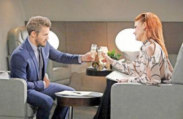 Liam ja Sally selvittävät muotitalon tulevaisuutta Kauniit ja rohkeat -sarjassa.