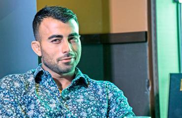 Makwan Amirkhani puolusti heikompaa.