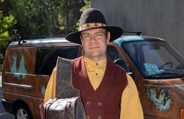 Mauri Kiviranta on turkulainen cowboy.