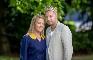 Saana Sassali ja Jarno Kokko tekevät uutta musiikkia.
