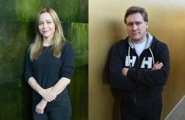 Paula Vesala ja Samuli Edelmann lauloivat dueton.