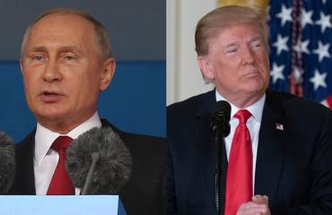 Putin ja Trump saapuvat Suomeen.
