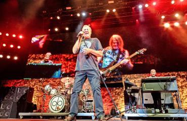 Deep Purplen Ian Gillan ketoo superhitin synnystä.