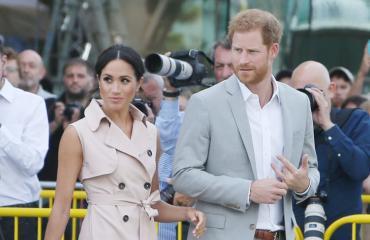 Meghan Markle ja prinssi Harry kävivät Irlannissa.