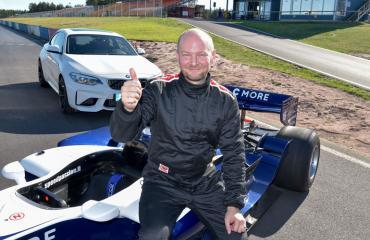 Sampo Terho pääsi formulan rattiin.
