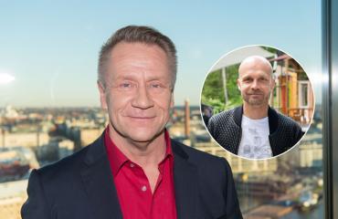 Olli Lindholm fanitti Juha Tapiota.