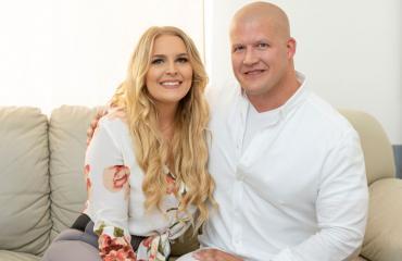 Anne-Mari Miettinen ja Petteri avioituvat syyskuussa.