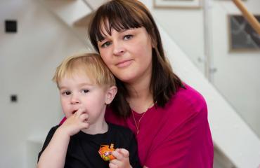 Kaksivuotias Max odottaa sopivaa kantasoluluovuttajaa.