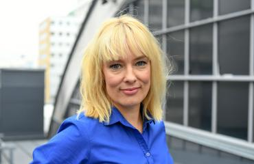 Terhi Suorlahti on uusi Putöus-näyttelijä.