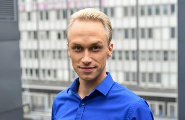 Christoffer Strandberg Seiskan tentissä,