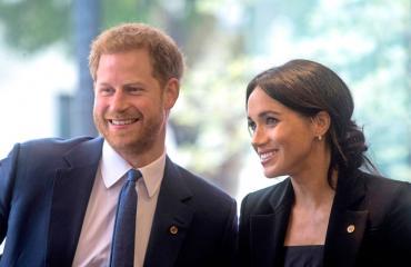 Prinssi Harry ja Meghan valitsivat jo kummin lapselleen.