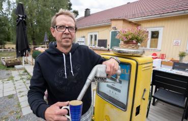 Pasi Tamminen perusti ravintolan ja majatalon.