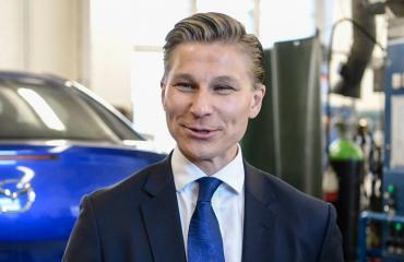 Antti Häkkänen saa vauvan.
