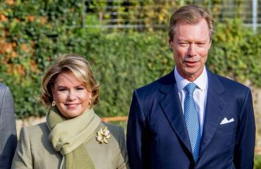 Luxemburgin suurherttua Henri ja suurherttuatar Maria Teresa