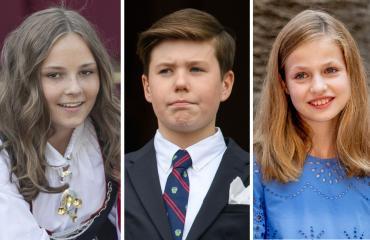 Norjan prinsessa Ingrid, Tanskan prinssi Christian ja Espanjan prinsessa Leonor