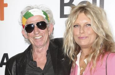 Keith Richards ja Patti Hansen