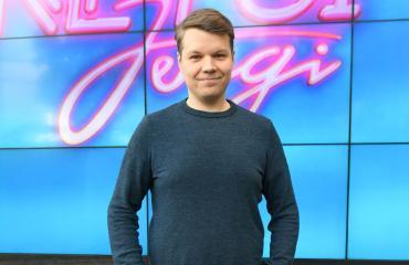 Hannes Suomisen Arska-rakas on taiteiljasielu.