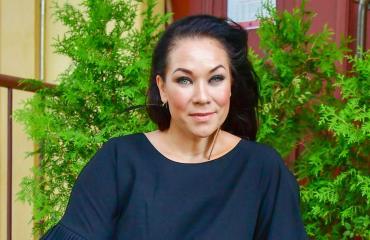 Tiina Räsänen harrastaa taekwondoa.