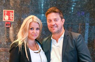 Sanna Vaahti ja Oskari Katajisto muuttivat Espooseen.