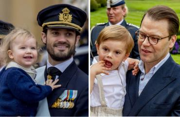 Ruotsin prinssit Carl Philip, Alexander, Daniel ja Oscar