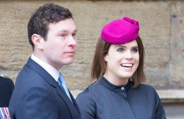 Ison-Britannian prinsessa Eugenie ja Jack Brooksbank
