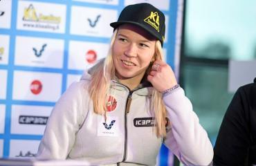 Julia Kykkänen on mäkihyppääjä.