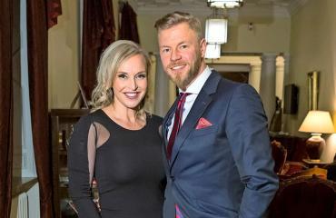 Jutta Gustafsbergin ja hänen aviomiehensä Juha Rouvisen häämatka kesti vain kolme päivää.