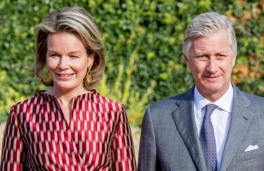 Belgian hallitsijapari Philippe ja Mathilde