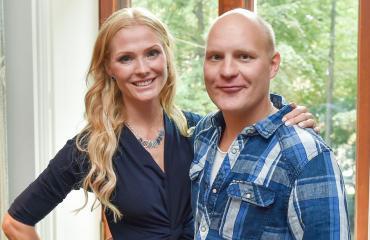 Riina-Maija ja Kalle Palander