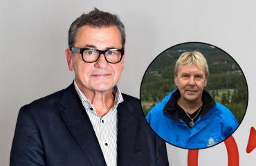 Antti Heikkilä jyrähtää Matti Nykäselle.