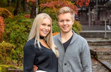 Alina Voronkova rakastui ensisilmäyksellä Joonakseen.
