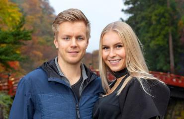 Joonas Hurri ja Alina Voronkova rakastuivat ensisilmäyksellä.
